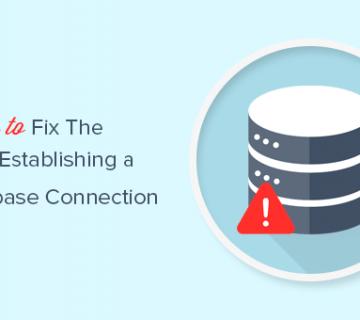 إصلاح خطأ ووردبريس في إنشاء اتصال بقاعدة بيانات