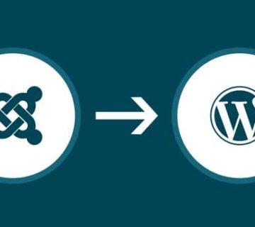 كيف تنقل موقعك من جملة إلى ووردبريس